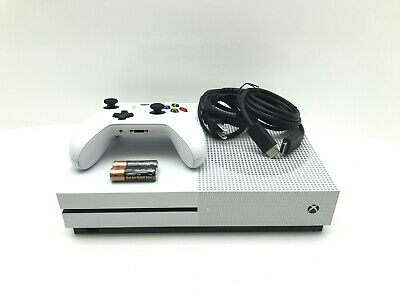 Microsoft Xbox One S 1TB 4K UHD HDR Gaming Console with Controller 234-00001