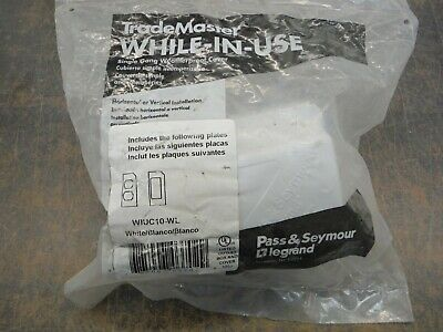 Pass & Seymour Wiuc10-Wl Single Gang Weather Proof Cover