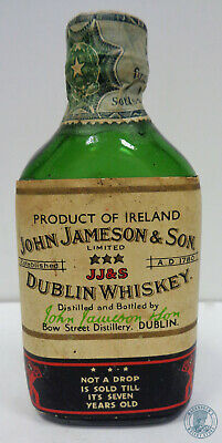 Miniature / Mignon Dublin Whiskey JOHN JAMESON & SON