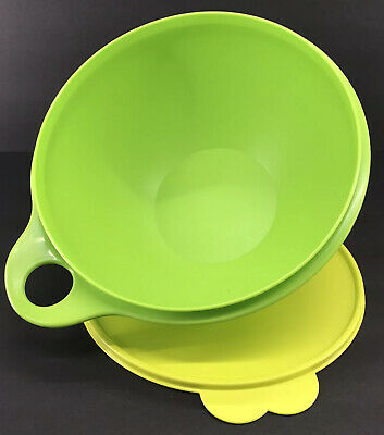 Tupperware Thatsa Bowl Jr 12 Cup Mixing Container Green #2677 New