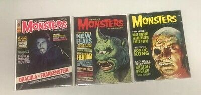 Famous Monsters Of Filmland Set Of 3: 23, 27, 89
