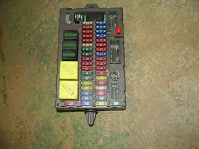 Land Rover Discovery 2 Inside Fuse box  03 04 Fusebox W. Fuses Interior OEM