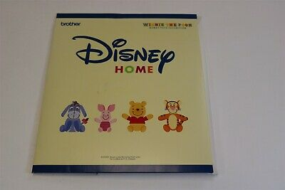 BROTHER - DISNEY HOME EMBROIDERY CARD Winnie The Pooh Honey Toys Collection