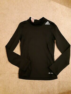 Boys Adidas Base Layer Techfit Climawarm Top. Age 9-10 Years.