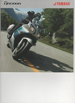 Prospectus - catalogue Yamaha  FJR 1300 A 2005