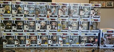 funko pop stranger things chase Eleven, Mike, Hopper, Dustin, Will, Lucas, etc