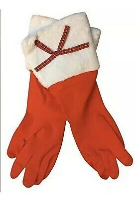 Christmas Washing Up Gloves One Pair Great For Hinching