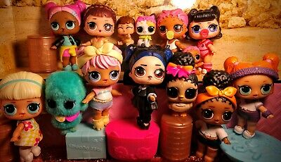 Lol surprise dolls, Series 3 Confetti pop lot of 14. Big, Lil & fuzzy pet.