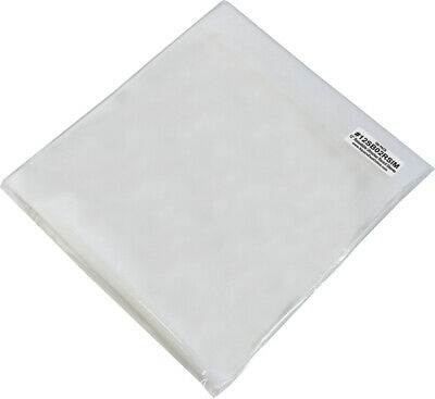 "(100) 12"" Record Outer Sleeves - RESEALABLE LP 2mil THICK Bags Covers ARCHIVAL"