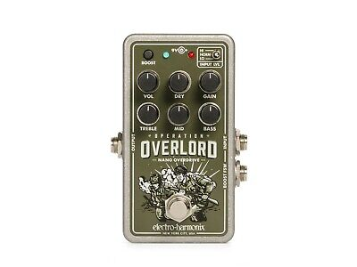 Electro Harmonix EHX Nano Operation Overlord Allied Overdrive effects pedal