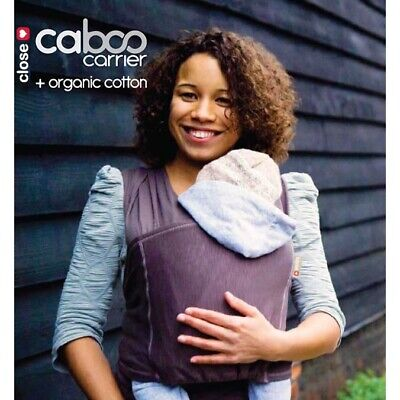 Close Caboo baby carrier / sling, Taupe Organic + Cotton