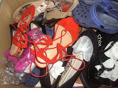 Job lot of brand new shoes various sizes and brands