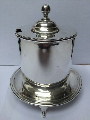 Rare JAMES DEAKIN & SONS Sheffield, 6' Silver Plated Jam/Marmalade Holder c.1920