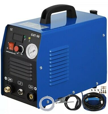 CUT-50, 50 Amp Plasma Cutter HF Inverter Digital Plasma Cutting Machine IGBT