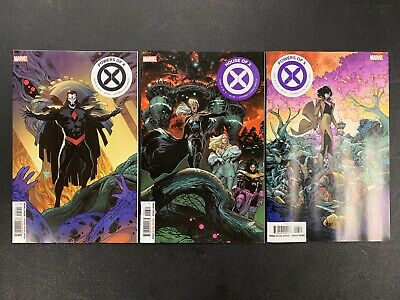Powers Of X #5-6, House Of X #6 (2019) Marvel Comics Main Covers Hickman X-Men