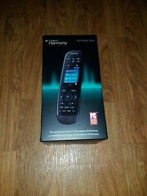 Logitech Harmony Ultimate One 15 Device Universal Remote Black
