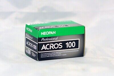 NEW FUJI Neopan ACROS 100 B&W Negative 35mm 36 Exposure Roll Fujifilm Exp. 10/19