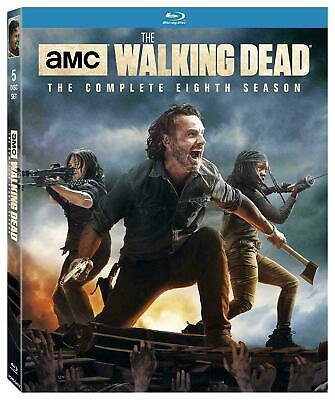 The Walking Dead: The Complete Eighth Season (Blu-ray Disc, 2018)