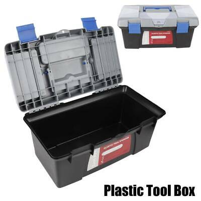 Removable Plastic Tool Box Lockable Compartment  Cantilever Storage Toolbox Uk