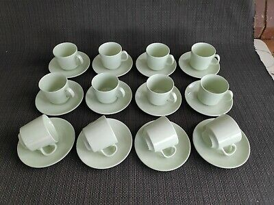 Set #3 - 12 x vintage Johnson Brothers 1950's tea or coffee cup & saucers