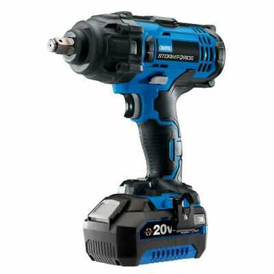 """Draper 43785 Storm Force 1/2"""" Impact Wrench, 4.0Ah Battery"""