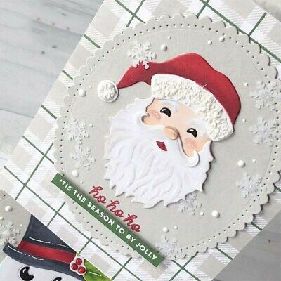 Metal Cutting Dies Cut Die Christmas Santa Claus Scrapbooking Album DIY Crafts