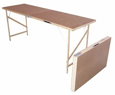 Wooden Lightweight Portable Folding Decorators Wallpaper Pasting Paste Table