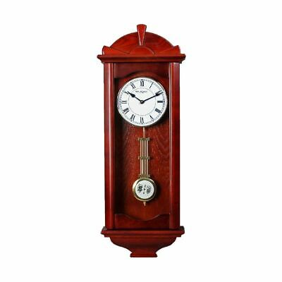 WILLIAM WIDDOP Wooden Pendulum Clock - Westminster Chime h 71