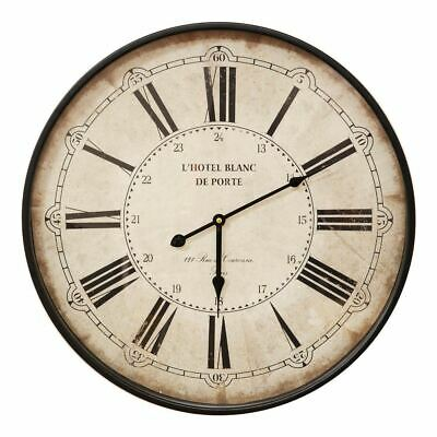 Hometime Vintage Metal Wall Clock 50cm