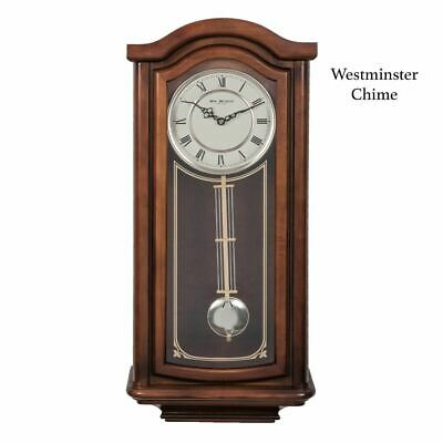 WILLIAM WIDDOP Broken Arch Pendulum Clock - Westminster