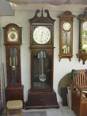 Westminster chimes grandfather clock. Chinoiserie?