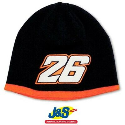 Bike IT VR46 Dani Pedrosa Beanie Hat Adult Navy Blue Orange Genuine 76202 J&S