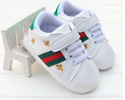 Newborn to 12 Baby Boy Girl Pram Shoes Infant Sneakers Toddler PreWalker Trainer