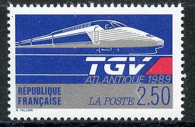 Stamp / Timbre France Neuf N° 2607 ** Le Tgv Atlantique