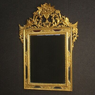Mirror gold furniture in gilt wood antique style antiques living room frame