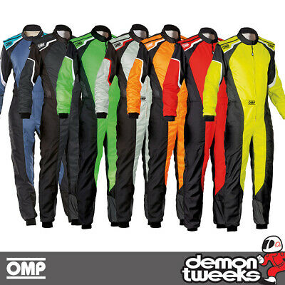 OMP KS-3 2 Layer Karting Kart Race Suit