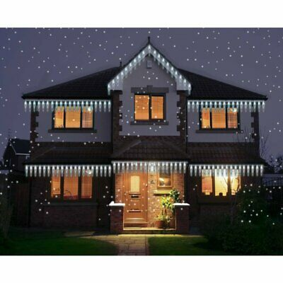 100 Led Icicle Mini Sculpture Christmas Lights Indoor