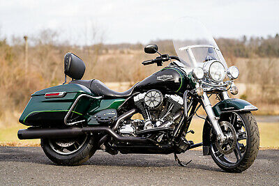 "2015 Harley-Davidson Touring  2015 Harley-Davidson Road King FLHR 2-Tone Thousands in Extras!! 103""/6speed!"