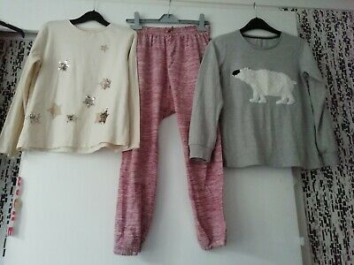 Lovely Girls Tops & Joggers Age 11 Years Next Zara