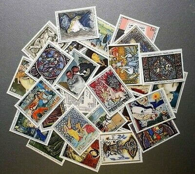 Lot collection timbres France tableaux neufs**