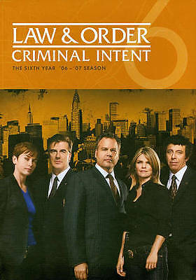 Law and Order: Criminal Intent - The Sixth Year (DVD, 2011, 5-Disc Set) NEW