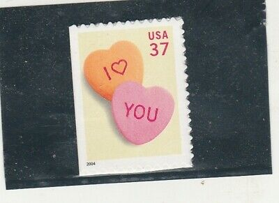 Scott # 3833  US  Candy Hearts   M/NH  O/G  Booklet