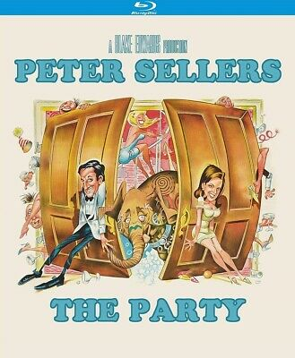 The Party Peter Sellers Region A Blu Ray Comedy Blake Edwards