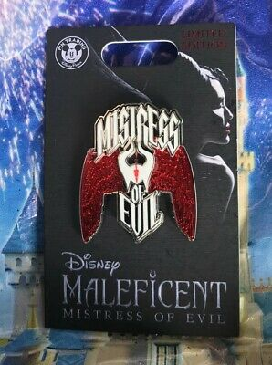 Disney Maleficent Mistress Of Evil Live Action Pin LE 2000 New In Hand