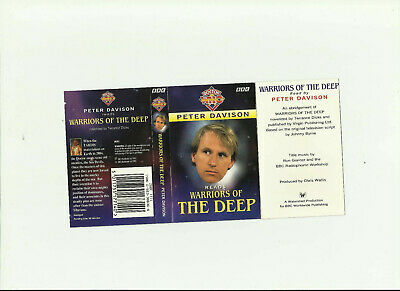 Doctor Who: Warriors Of The Deep (1995) Cassette Audiobook