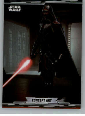 2019 Topps Chrome Star Wars Legacy Concept Art Refractors #CA-16 Kylo R ID:13527