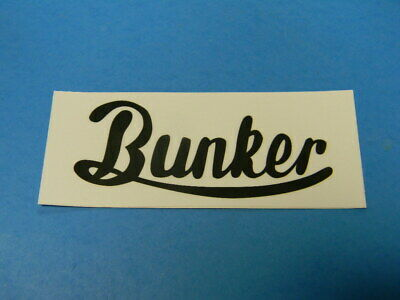Bunker Brewing Company Craft Brewery Beer Ale Sticker Portland Maine