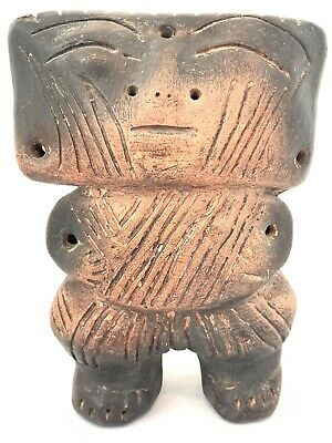 Stunning REPRODUCTION? PreColumbian art Quimbaya Civilization Colombia Rattle 7""