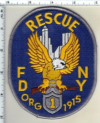 New York City Rescue 1 Fire Department Shoulder Patch