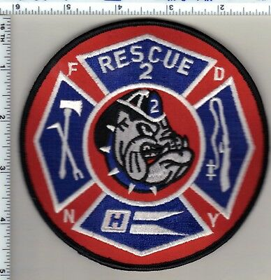 New York City Rescue 2 Fire Department Shoulder Patch